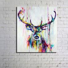 Deer Ink Poster