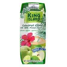<b>Кокосовая</b> вода с <b>фруктовым</b> соком (Лайм, гуава, яблоко) King ...