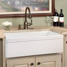 30 baldwin single bowl fireclay farmhouse kitchen sink 599 apron kitchen sink kitchen sinks alcove