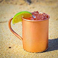 RASTOGI Craft Moscow Mule Mug – 100% <b>Pure Copper</b> Coated ...