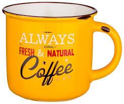 """Купить <b>Кружка Lefard</b> 260-<b>450</b> """"Fresh and natural Coffee"""" 400 <b>мл</b> ..."""