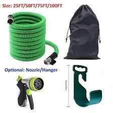 Best Heavy Duty Flexible Expandable <b>Garden</b> Water Hose <b>25ft 50ft</b> ...