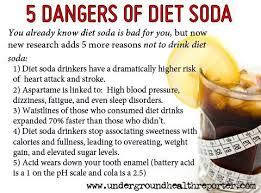 5 Dangers of Diet Soda ;Health tips | Inspirational Quotes ...