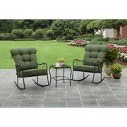 Better Homes and Gardens Seacliff <b>3</b>-<b>Piece</b> Rocking Chair <b>Bistro Set</b>