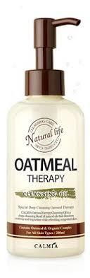 Calmia гидрофильное <b>масло с экстрактом</b> овса Oatmeal Therapy ...