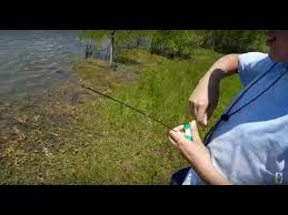The <b>mini fishing pole</b> in Action!!! - YouTube