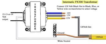 intermatic digital control centers parts manuals image of transformer wiring