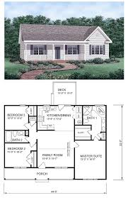 ideas about Simple House Plans on Pinterest   House plans    Ranch House Plan