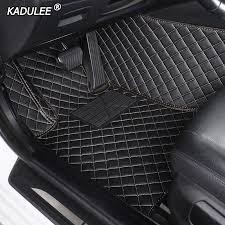 All Weather <b>Black Rubber</b> Floor Mats Liners <b>2PCS</b> Front For 10-15 ...