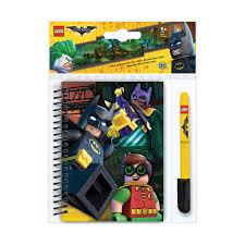 Канцелярский набор <b>Lego Batman Movie</b>: блокнот на спирали ...