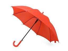 <b>Зонт</b>-<b>трость</b> Edison, <b>полуавтомат</b>, <b>детский</b>, красный, арт ...