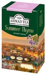 <b>Чай</b> черный <b>Ahmad tea Summer</b> thyme — в наличии, купить по ...