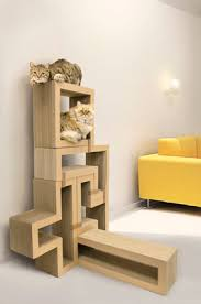 katris from papercut lab is an innovative modular scratching system for your catand home it is designed to keep your cat happy your furniture safe and cat safe furniture