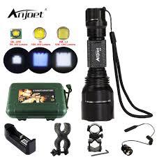ANJOET <b>C8 hunting flashlight LED</b> 1200LM XML T6 Q5 L2 ...