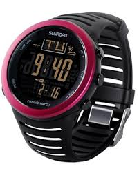 sunroad fr820a 3atm waterproof altimeter compass stopwatch fishing barometer pedometer outdoor sports watch tools