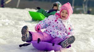 Image result for kids sledding images