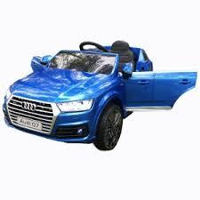 <b>Детский электромобиль Harleybella Audi</b> Q7 Luxury 2.4GHz Blue ...