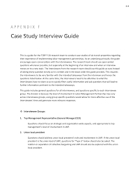 appendix f case study interview guide labor management page 52