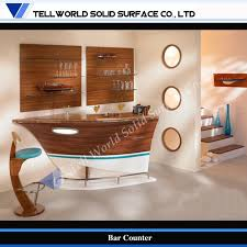 china fancy boat style small home modern bar counter design furniture tw home decore cheap home bars furniture