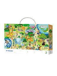 <b>Пазл на</b> внимательность детский Зоопарк <b>Dodo</b> 9988514 в ...