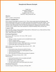 5 law office receptionist resume ledger paper receptionist resume sample 2015 resume template builder