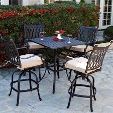 iron outdor dining set