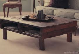 12 cool diy rustic furniture pieces rustic pallet coffee table build your own rustic furniture