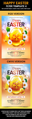 happy easter flyer template by flyermania graphicriver happy easter flyer template 4 holidays events