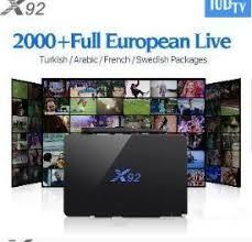 X92 <b>French Arabic</b> Europe <b>IPTV</b> TV Box Android 6.0 Smart <b>4K</b> Set ...