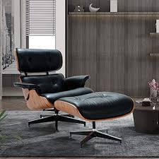 Mid Century Lounge Chair with Ottoman,Modern ... - Amazon.com