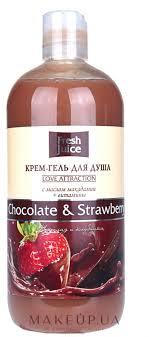 """<b>Крем</b>-<b>гель</b> для <b>душа</b> """"Шоколад и Клубника"""" - <b>Fresh</b> Juice Love ..."""