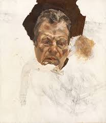 lucian freud the pitiless eye by jenny uglow nyr daily the unfinished self portrait by lucian freud circa 1980
