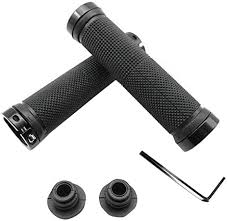 Renzhe 2 Pcs/1 Pair Bicycle Grips, Double Lock on ... - Amazon.com