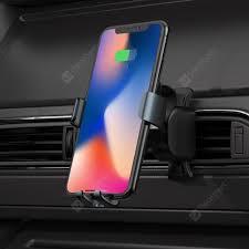 REMAX RM - C39 Wireless Charger <b>Car</b> Phone Holder Intelligent ...