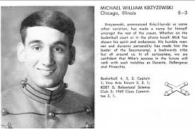 Yearbook Photo of Young Mike Krzyzewski at West Point Has Surfaced ... via Relatably.com