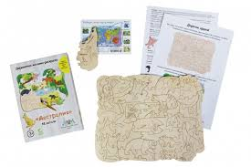 <b>Деревянная игрушка МУМ</b> мозаика-раскраска Австралия ...