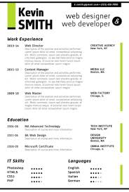free sample awesome resume template   essay and resume    sample awesome cover letters  awesome resume template for microsoft word web designer resume lime green  free