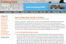 top 10 college resources for high school students this site also includes the college tips blog which is written by college students