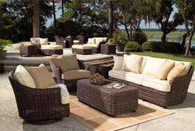 garden furniture patio uamp: tangkula pcs outdoor rattan patio furniture set backyard garden furniture seat cushioned