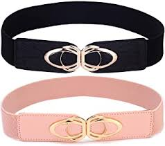 Women's Belts - Pink / Belts / Accessories: Clothing - Amazon.co.uk