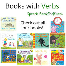 verbs books for speech books verbs