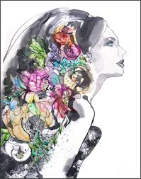 <b>Fashion Flower</b> Art