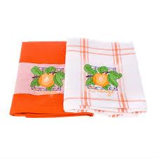 <b>Набор кухонных полотенец</b> 2шт orange <b>Asil</b>