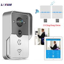 LOFAM Wireless IP Video Intercom <b>Smart</b> WI FI Video Door Phone ...