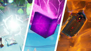 Touch a Giant Glowing Cube, Enter Rift Above Loot Lake, Search a ...