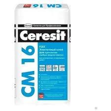 «<b>Клей для плитки</b> эластичный <b>Ceresit</b> CM 16 25 кг ...