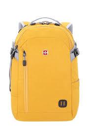 <b>Рюкзак SWISSGEAR 15</b>'', желтый, ткань Heather, 31x20x47 см, 29 ...