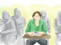 how to give a presentation steps pictures wikihow do a presentation in class