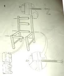 assemble the bench assembling ikea chair