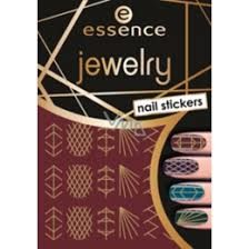 <b>Essence Nail Art</b> Jewelry <b>Nail Stickers</b> 09 1 miniature sheet - VMD ...